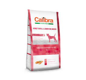 Calibra Dog Grain Free Adult Small Breed / Duck & Potato (2kg)