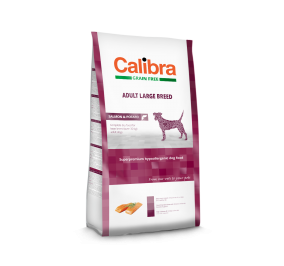 Calibra Dog Grain Free Adult Small & Medium Breed / Salmon & Potato