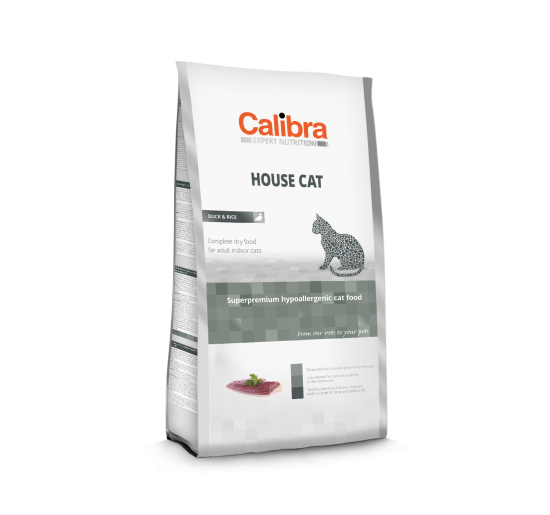 Calibra Cat Expert Nutrition Hair Care / Salmon & Rice (7kg)