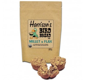 Bird Food - Harrison's Bird Bread Mix - Millet & Flax