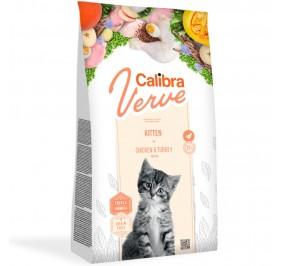 Calibra Cat Verve GF Kitten Chicken & Turkey 750g