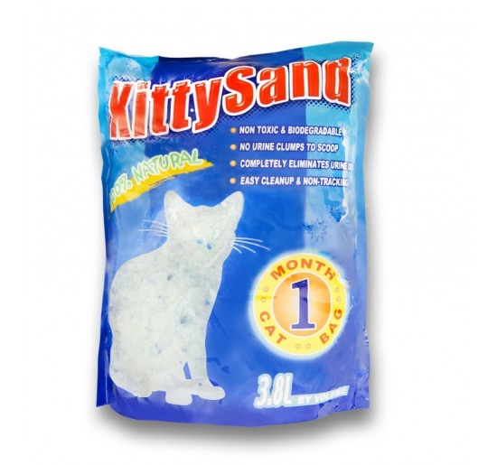 Kitty litter 3.8L bag