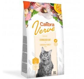 Calibra Cat Verve GF Sterilised Chicken & Turkey 750g