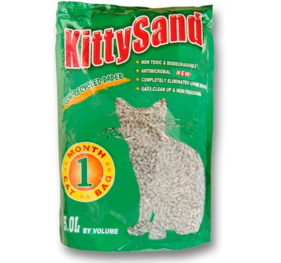 Recycled paper Cat litter 5 L
